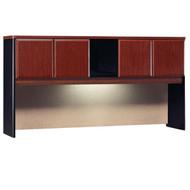 "Bush Business Furniture Series A Hutch 72"" Hansen Cherry - WC94473P"