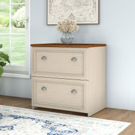 Bush Fairview Lateral File Cabinet Antique White - WC53281-03