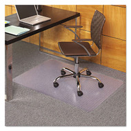 ES Robbins Anchormat EverLife Chair Mat for Carpet, Rectangular, 36 x 48, Clear - 121821