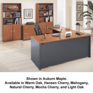 Bush Business Furniture Series C Package L-Shaped Straight Desk - SC15