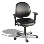 Cramer Triton Desk-Height Medium Back Chair 6-way Vinyl - TRMD6-V