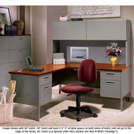 HON Metro Classic Series L Shaped Desk Package - METROPackageA