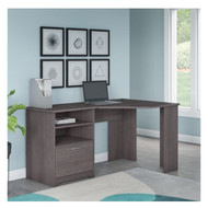 Bush Cabot Collection Corner Desk Heather Gray Finish - WC31715K
