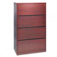 HON 10500 Series Lateral File Four-Drawer, Assembled - 10516NN