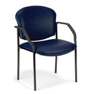 OFM Stackable Vinyl Guest Reception Chair - 404-VAM