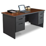 Marvel Double Pedestal Steel Desk 60 x 30 - PDR6030DP