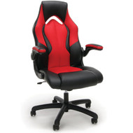 OFM Essentials Racing Style Leather Gaming Chair Red - ESS-3086-RED