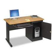 Balt LX48 computer Security Workstation Teak - 89843