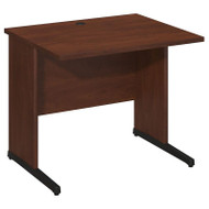 "Bush Business Furniture Series C Elite Desk 36"" x 30"" Hansen Cherry - WC24530"