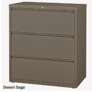 "Mayline CSII Lateral File 3-Drawer 42"" - HLT423"