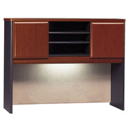 "Bush Business Furniture Series A Desk Hutch 48"" Hansen Cherry - WC94449P"