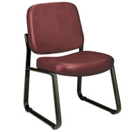 OFM Anti-bacterial Vinyl Guest or Reception Room Chair - 405-VAM
