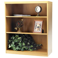 Mayline Aberdeen Bookcase 3-Shelf Maple - AB3S36-LMA