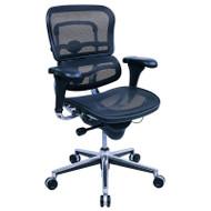 Raynor Ergohuman Low Back Mesh Chair - ME8ERGLO