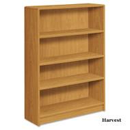 HON 1890 Series Radius Edge Bookcase 4- Shelves - 1894