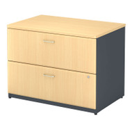 Bush Business Furniture Series A Lateral File Cabinet Beech - WC14354P