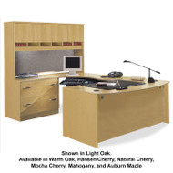 Bush Business Furniture Series C Package Executive U-Shaped Bowfront Desk - SC10A