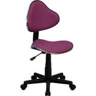 Flash Furniture Lavender Fabric Ergonomic Task Chair - BT-699-LAVENDER-GG