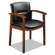 HON 5000 Series Park Avenue Collection Executive Leather Guest Chair - Cognac - 5003COEE11