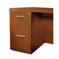 Mayline Aberdeen Pedestal File Assembled for Desk F/F Cherry Finish - AFF26-LCR