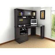 Bush Cabot Collection Corner Desk Package Espresso Oak - CAB008EPO