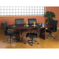 """Mayline Luminary Conference Table 72"""" Cherry - CT3672"""