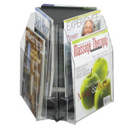 Safco 6 Magazine, 2-tier Tabletop Display - 5698CL