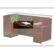 Mayline Napoli Veneer Center Desk Drawer ASSEMBLED Sierra Cherry - NCD-CRY