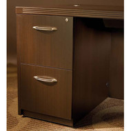 Mayline Aberdeen Pedestal File Assembled for Desk F/F Mocha - AFF26