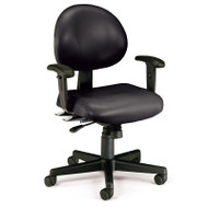 OFM 24-Hour Vinyl Task Chair with Arms - 241-VAM-AA