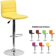 Flash Furniture Contemporary Vinyl Adjustable Height Barstool - CH-92023-1-XX-GG