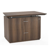 """Mayline Sterling Series 36"""" Freestanding 2-Drawer Lateral File, for Reception Textured Brown Sugar - STERCLF-TBS"""