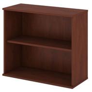 "Bush Business Furniture Bookcase 30""H 2-Shelf Hansen Cherry - BK3036HC"