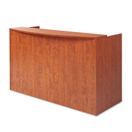Alera Valencia Collection Reception Desk Medium Cherry - VA327236