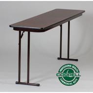 Correll Off-Set Leg Folding Seminar Table 24 x 72 - ST2472PX