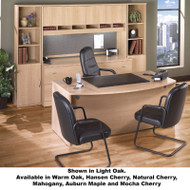 Bush Business Furniture Series C Package Executive Bowfront Desk - SC18