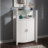 Bush Furniture Aero Medium Library Storage 2-Door White - MY16191-03
