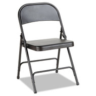 Alera Steel Folding Chair (4 pack) Graphite - FC94B
