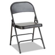 Alera Steel Folding Chair (4 pack) Graphite - FC94B