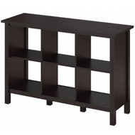 Bush Broadview Collection 6 Cube Bookcase Espresso Oak - BDB145EO-03