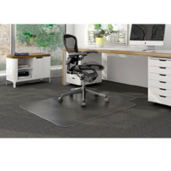 "Deflect-o Duramat Low Pile Carpet Chairmat Lipped 45"" x 53"" - CM13231"