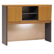 "Bush Business Furniture Series A Desk Hutch 48"" Natural Cherry - WC57449P"