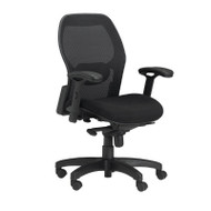 Mayline Mercado Mesh Chair 24 3/4W x 23 1/2D x 38-41H - 3200