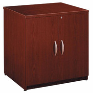 "Bush Business Furniture Series C Cabinet 30"" Mahogany - WC36796A"