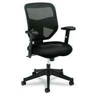 Basyx by HON Black Mesh High-Back Chair - VL531MM10