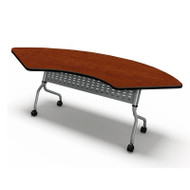 "Mayline Sync Laminate Training Table Crescent (48"" Radius) High Pressure - SYC24H"