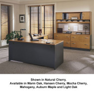 Bush Business Furniture Series C Package L-Shaped Straight Desk - SC13