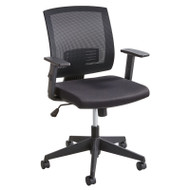 Safco Mezzo Mesh Task Chair - 7195BL