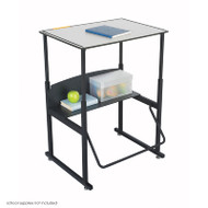 Safco Alphabetter Box Desk - 1203GR