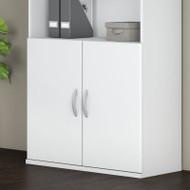 Bush Business Furniture Studio C Half-Height Door Kit White - SCB236WH